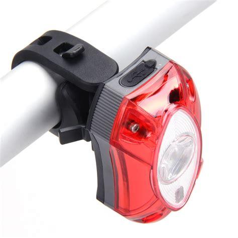 3w Usb Rechargeable Led Rear Bicycle Light Rain Waterproof
