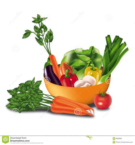 l m vegetables vegetables in a bowl royalty free stock image image 9889886