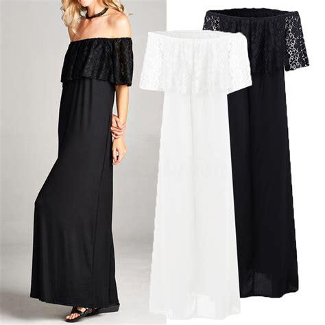 Longdress Plus Cd summer shoulder plus size dress lace
