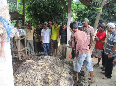 tujuan membuat yayasan pelatihan pembuatan kompos di rama gunawan lamteng