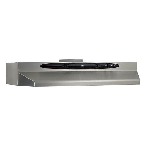 lowes cabinet range broan qt230ssn 30 in undercabinet range stainless
