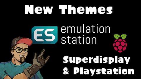 new themes ps3 new retropie themes playstation superdisplay