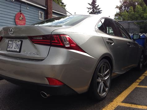 silver lexus my 2014 atomic silver is350 f sport is quot on sea