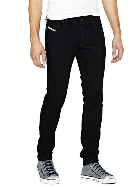 skinny jeans black mens diesel diesel sleenker smart skinny mens jeans in black