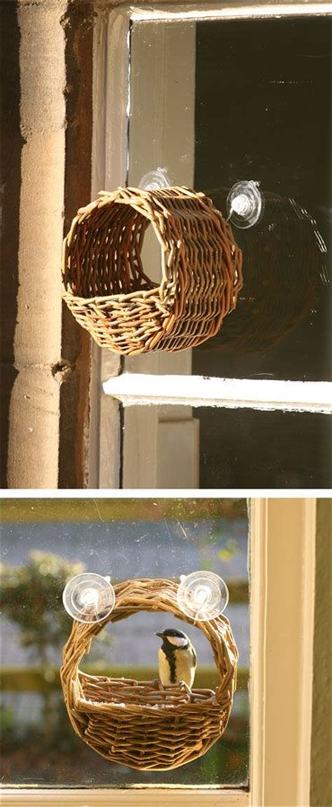 Wicker Bird Feeder Wicker Window Bird Feeder As Featured In Book Willow