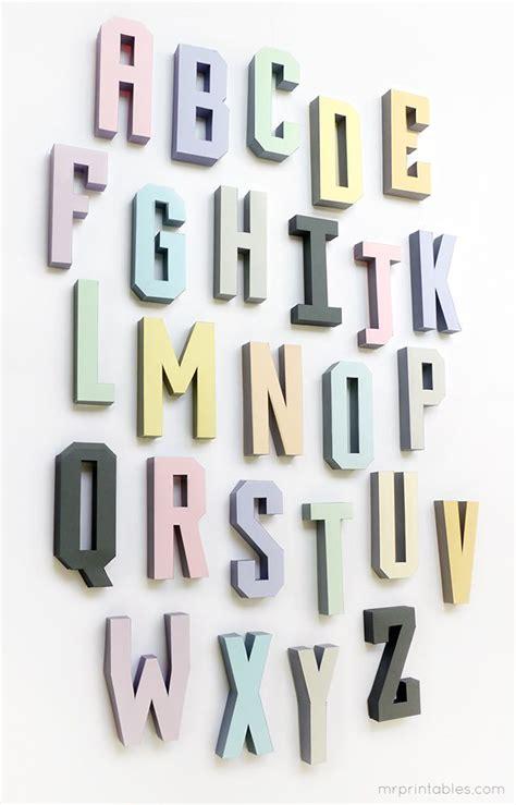 diy d 233 coration murale en 3d avec les lettres d 233 co