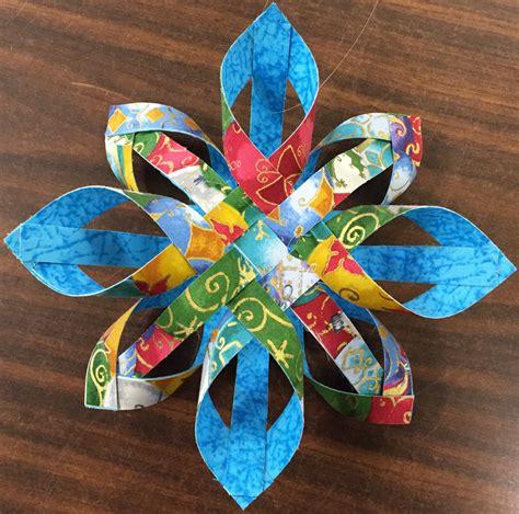 pattern for woven snowflake ornament woven snowflake ornaments w barb z