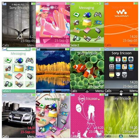 sony j20i themes free download download themes for sony ericsson phones