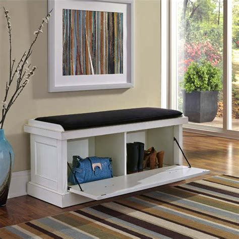 oberlin small white entryway bench home styles nantucket upholstered bench with enclosed