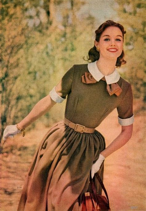 dress fashion from the simplicity pattern book fall