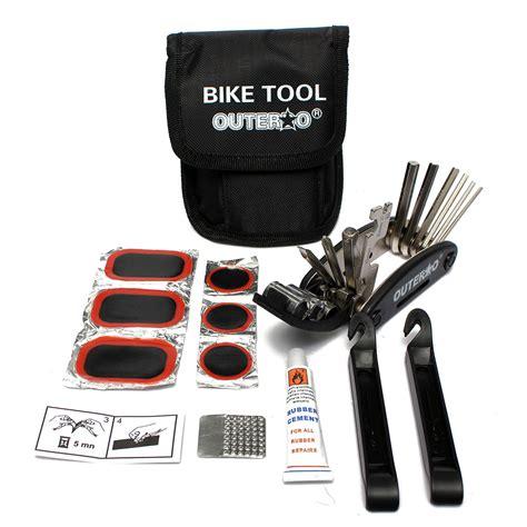Bike Tripod Tools Kit Intl bicycle bike tire tyre repair kit tools patch rubber