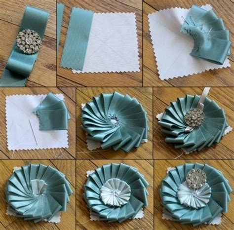 Handmade Things For Home - brooch in a few simple steps diy is