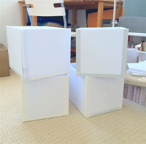 boxes to make how to make custom sized storage boxes from dollar store