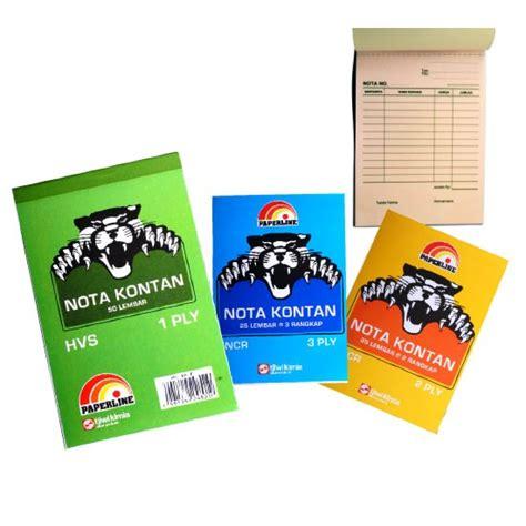 Buku Nota Kontan 1 Ply Paperline T2709 jual nota kontan 3ply rangkap 3 paperline deethoven shop