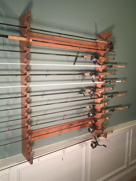 1000 ideas about fishing rod rack on rod rack