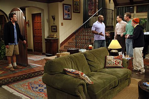 two and a half men house two and a half men coldwell banker blue matter