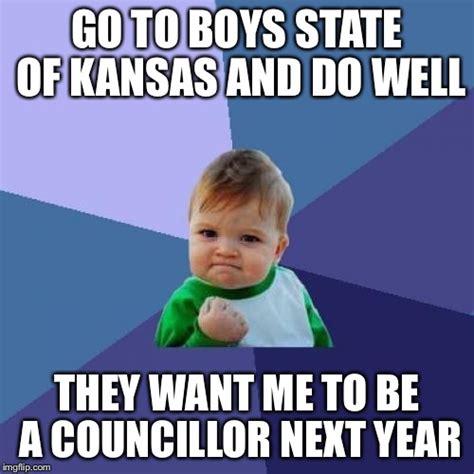 Kansas Meme - success kid meme imgflip
