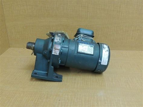 gearbox induction motor new sumitomo sm cyclo gear induction motor hm3095 1 2 hp 70 rpm ratio 25 ebay