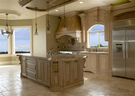 Pictures Of Kitchens Traditional Off White Antique White Antiqued Kitchen Cabinets