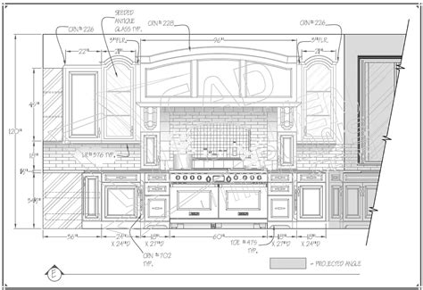 Kitchen Design Autocad Kitchen Autocad Pencil And In Color Kitchen Autocad
