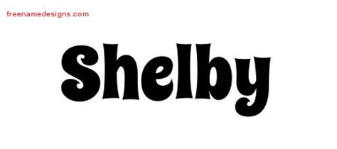 Shelby Lettering Template Shelby Archives Free Name Designs