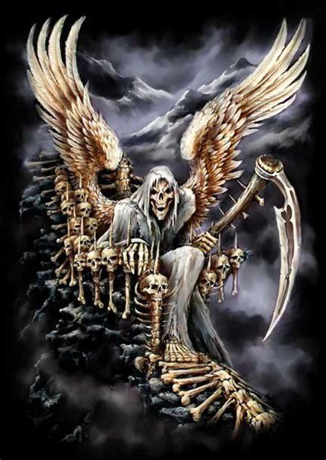 grim reaper grim reaper angel of death pinterest