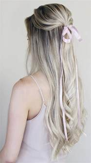 simple hairstyles incorporating bows ribbon alex gaboury