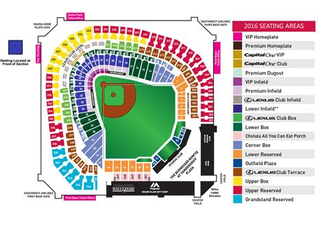 texas rangers ballpark parking map globe park seating map my