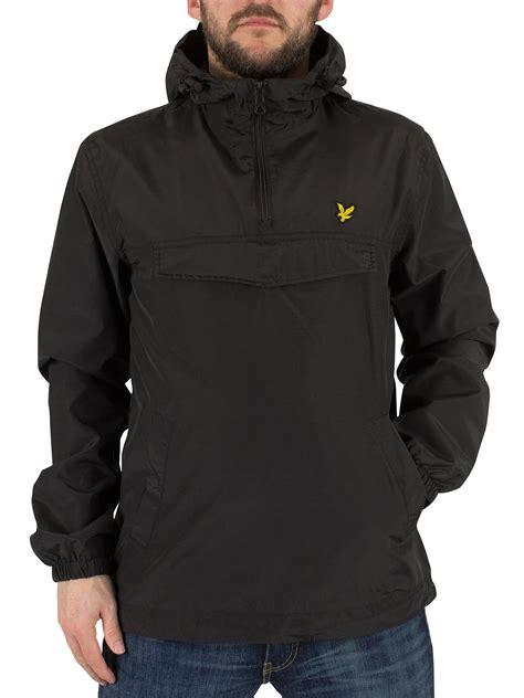 Jaket Parka 9 Pocket Black lyle s front pocket logo anorak jacket black