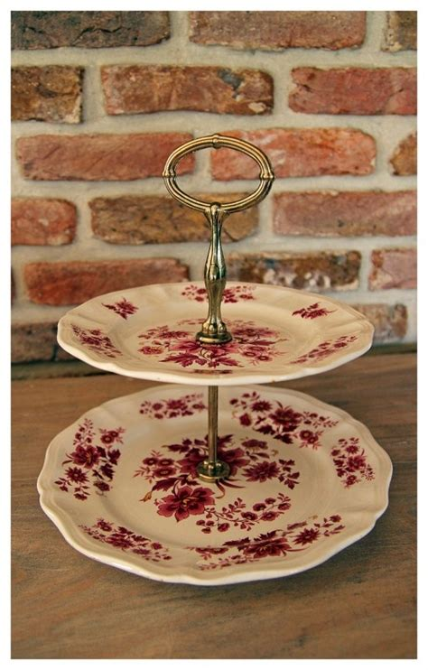 etagere shabby 1000 images about brocante servies on