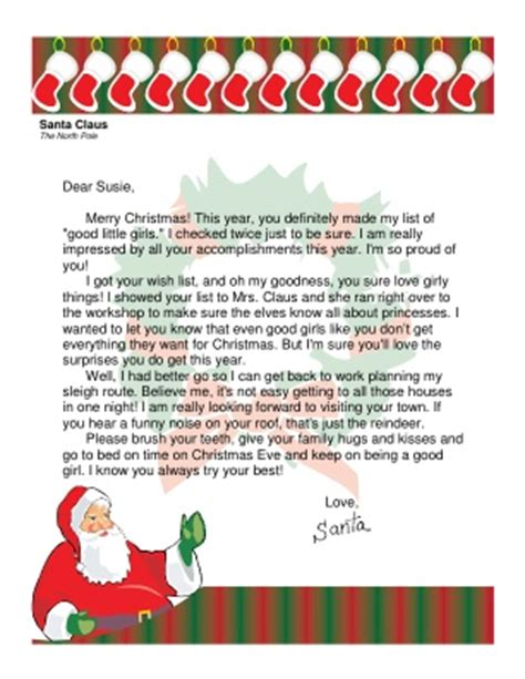 free printable letters from santa pdf santa letter its beginning to look a lot like christmas
