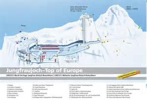 trail map of top of europe experience the wilderness