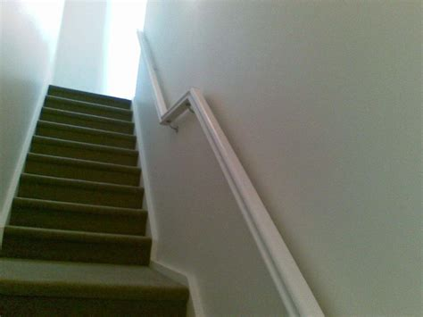wall mounted banister stair railings geelong staircase handrails steel