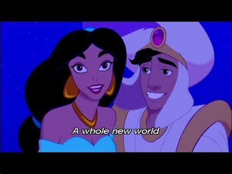 A Whole New World by アラジン A Whole New World 英語字幕付き