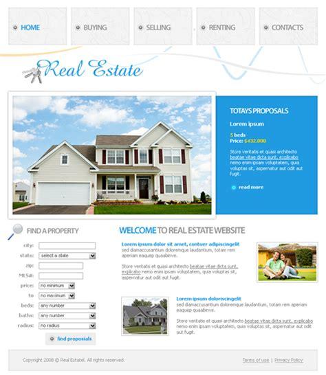 3617 Real Estate Building Website Templates Dreamtemplate Real Estate Website Templates