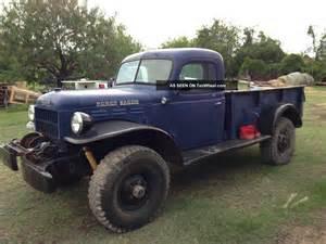 1946 dodge power wagon 100