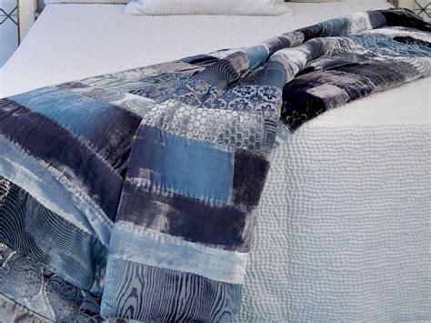 Velvet Patchwork Comforter - velvet patchwork bedding bedding sets collections