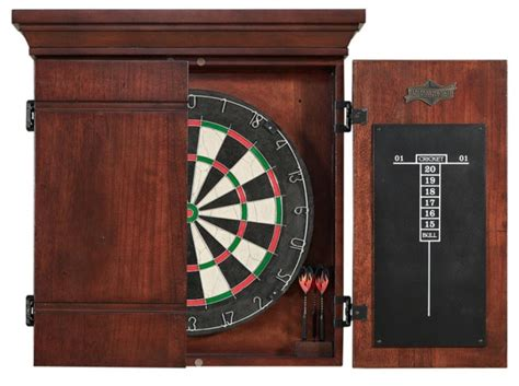 best dart board cabinet american heritage athos dartboard with cabinet