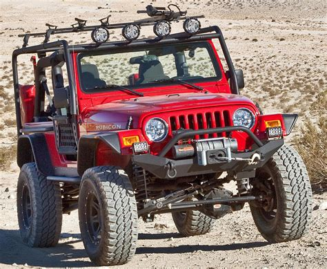 jeep body armor amazon com body armor 4x4 tj 19531black steel front