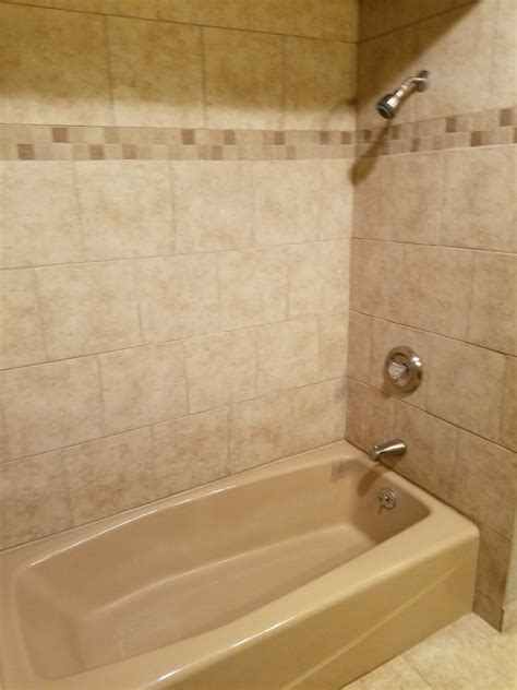 Oversized Tub Shower Ideas For Bathroom Traditional With White Walls Nickel