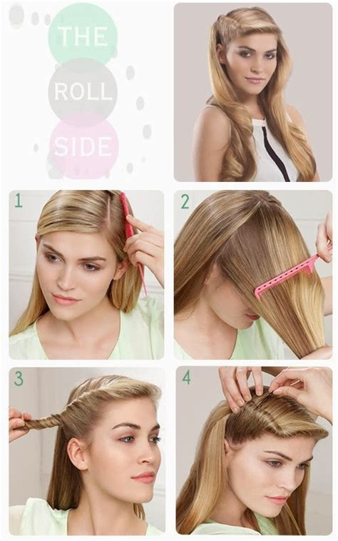 easy to do step by step 1940s hairstyles 8 id 233 es coiffures pour noel coiffure pour soir 233 e nouvel