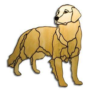 golden retriever stained glass pattern obsession pre cut golden retriever kit by obsession glass