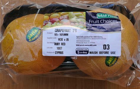 6 fruits in aldi ireland fraudulent aldi are selling israeli grapefruit labeled
