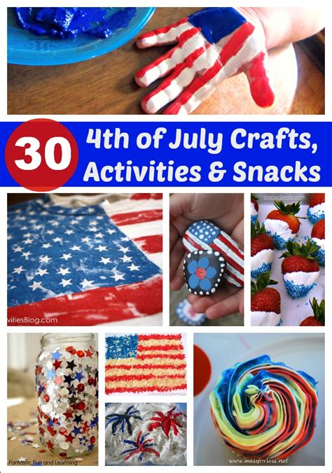 4th of july crafts for 4th of july craft noisemaker mess for less
