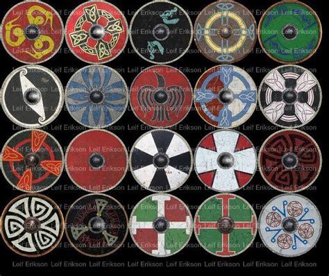 viking pattern meaning viking shields norse viking weapons pinterest