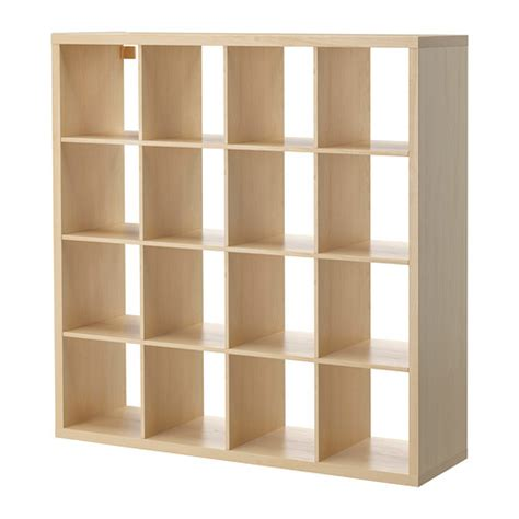 shelving unit room divider kallax shelving unit birch effect ikea
