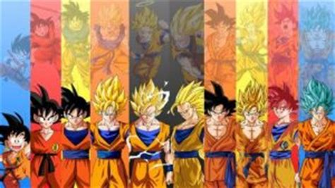 imagenes de goku en todas las fases photo collection de goku fase