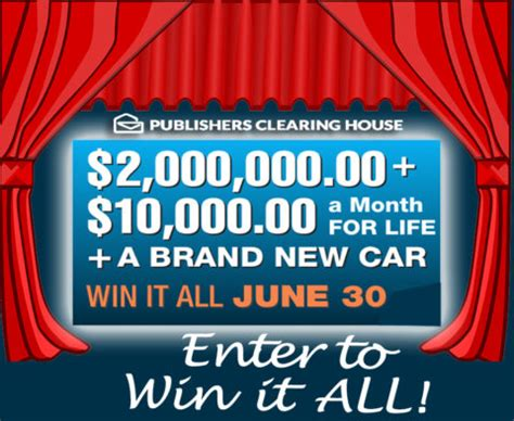 Pch Win It All Sweepstakes - pch win it all 2 million plus 10000 a month for life upcomingcarshq com