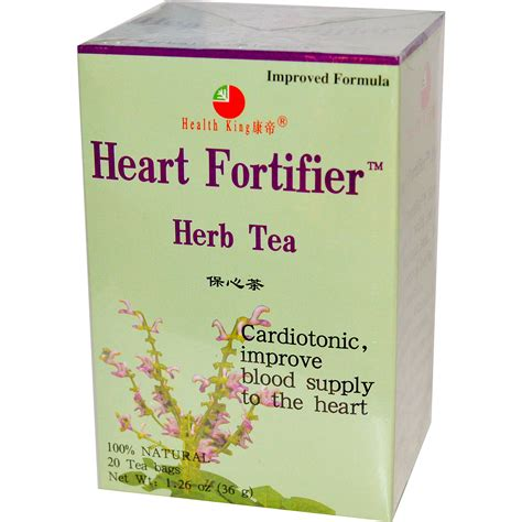 Health King Detoxer Herb Tea Reviews by Health King Herb Tea Fortifier 20 Tea Bags 1 26