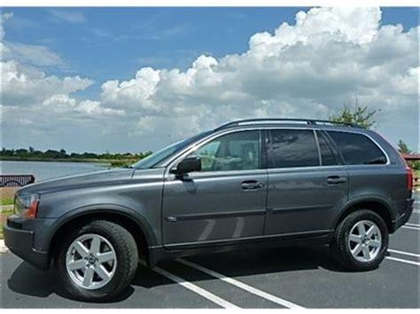 volvo suv 3 row seating buy used 05 volvo xc90 warranty wood steering wheel 3rd